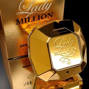Brand New Paco Rabanne Lady Million 2.8oz